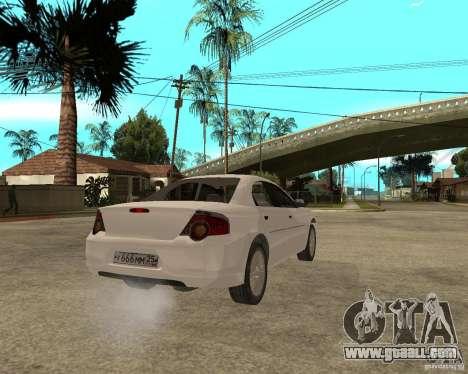 GAZ Volga Siber 2.5 AT for GTA San Andreas back left view