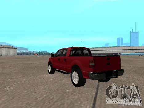Ford F-150 2005 for GTA San Andreas back left view