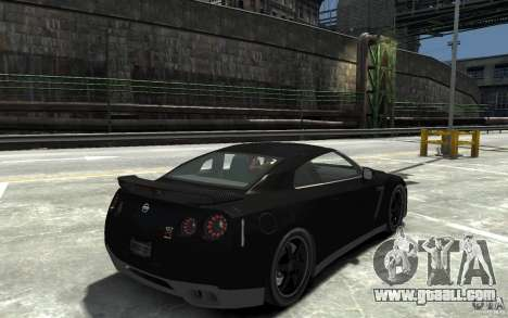 Nissan GT-R R35 Final for GTA 4 right view