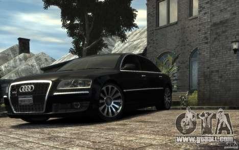 Audi A8 L 6.0 Quattro (Transporter 3) for GTA 4