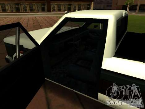 New Tuned Bobcat for GTA San Andreas inner view