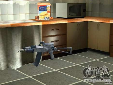 Pak domestic weapons version 3 for GTA San Andreas