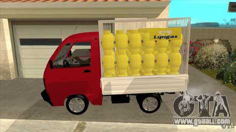 Suzuki Carry 4wd 1985 Lipigas for GTA San Andreas left view