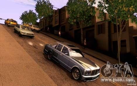 Bentley Arnage R 2005 for GTA San Andreas inner view