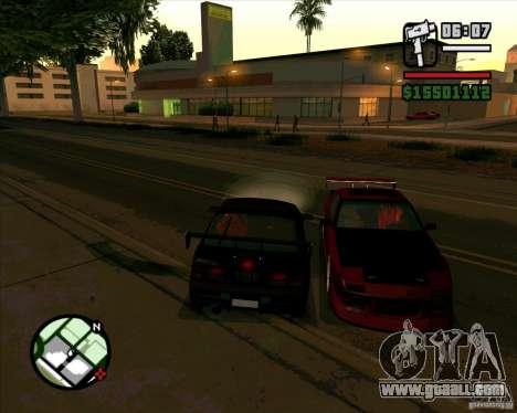 MAZDA FC3S DRIFT TUNE for GTA San Andreas left view