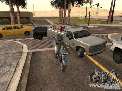 Cars with trailers for GTA San Andreas forth screenshot