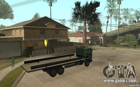 DFT30 Dumper Truck for GTA San Andreas right view