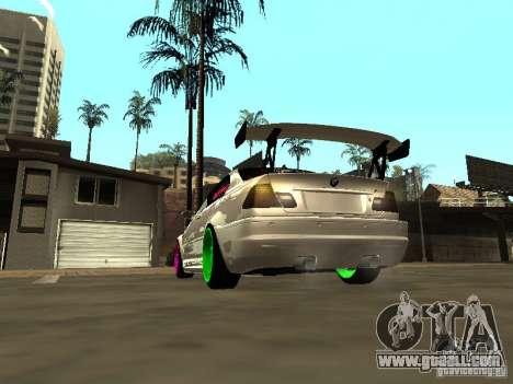 BMW M3 E46 v1.0 for GTA San Andreas left view