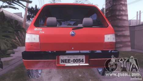 Fiat Uno Mile Fire Original for GTA San Andreas left view