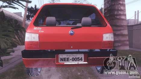 Fiat Uno Mile Fire Original for GTA San Andreas left view