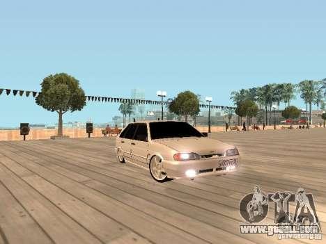 ВАЗ 2114 BEAST for GTA San Andreas