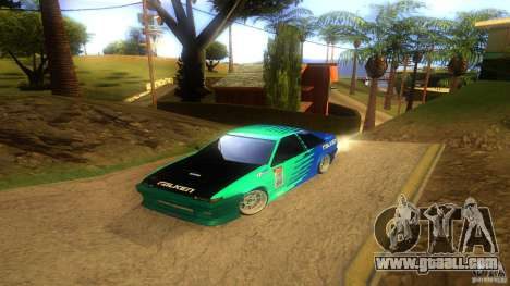 Toyota AE86 Coupe - Final for GTA San Andreas upper view