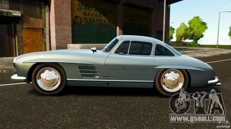 Mercedes-Benz 300 SL GullWing 1954 v2.0 for GTA 4 left view