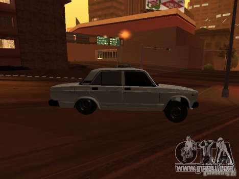 VAZ 2107 Azeri full for GTA San Andreas right view