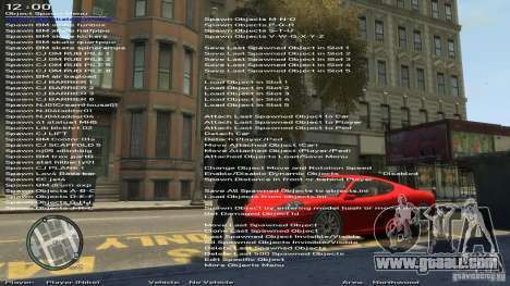 Simple Trainer Version 6.3 for 1.0.1.0-1.0.0.4 for GTA 4 fifth screenshot