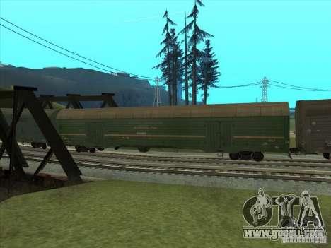 Wagon # 59004960 for GTA San Andreas back view