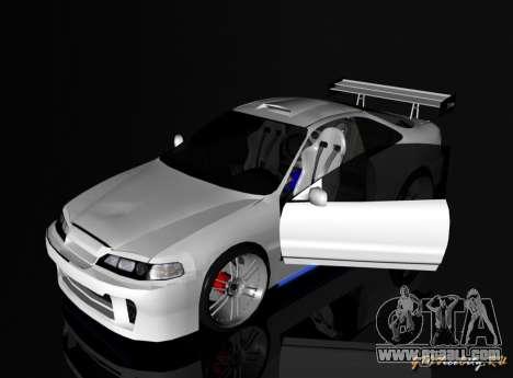 Honda Integra TUNING for GTA San Andreas left view