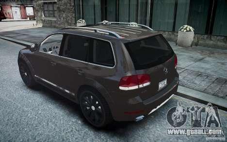Volkswagen Touareg R50 for GTA 4 left view
