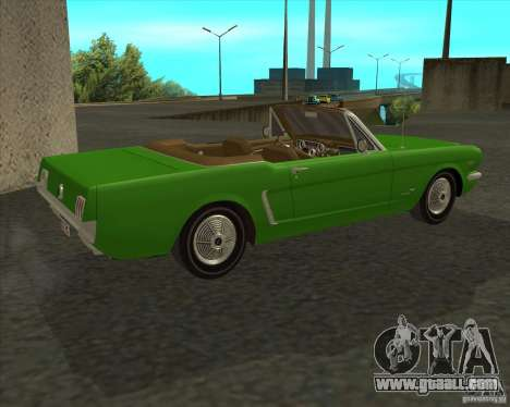 Ford Mustang 289 1964 for GTA San Andreas left view