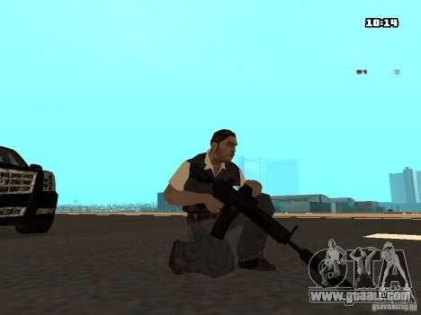 No Chrome Gun for GTA San Andreas forth screenshot