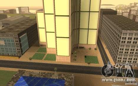 Skyscrapers in San Fierro for GTA San Andreas third screenshot
