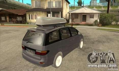 Toyota Estima for GTA San Andreas right view