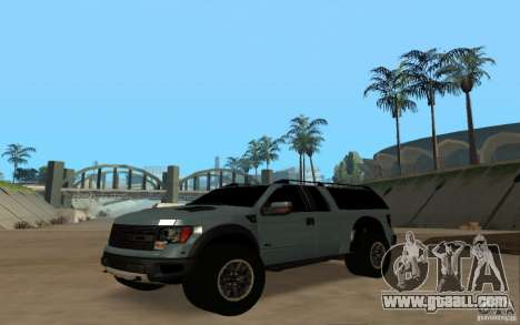 Ford Velociraptor for GTA San Andreas right view