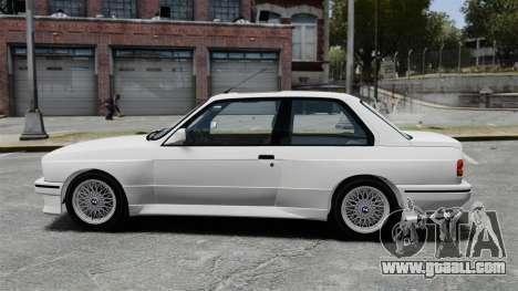 BMW M3 E30 v2.0 for GTA 4 left view
