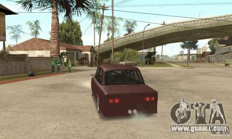 VAZ 2106 Street Style for GTA San Andreas left view