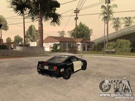 Saleen S281 2007 Barricade for GTA San Andreas back left view