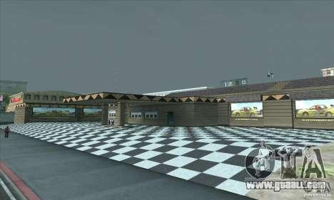The updated garage CJ in SF for GTA San Andreas third screenshot
