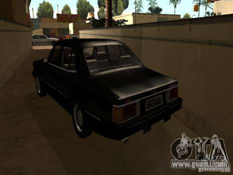 Chevrolet Opala BMT for GTA San Andreas back left view