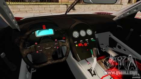 Bugatti Veyron 16.4 Body Kit Final Stock for GTA 4 back view