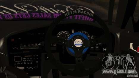 Subaru Legacy Drift Union for GTA San Andreas back view