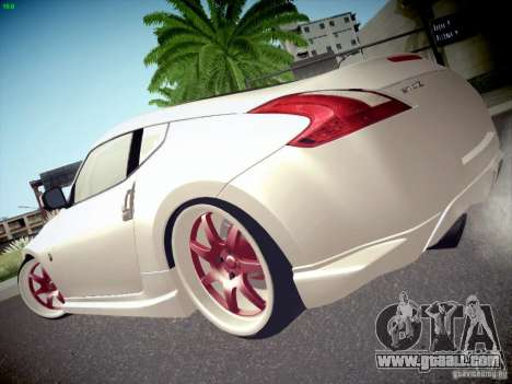 Nissan 370Z Fatlace for GTA San Andreas