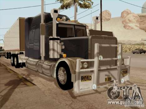 Western Star 4900 Aust for GTA San Andreas left view