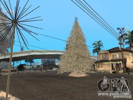New year's Eve at the Grove Street for GTA San Andreas