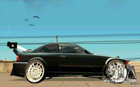 NFS:MW Wheel Pack for GTA San Andreas seventh screenshot