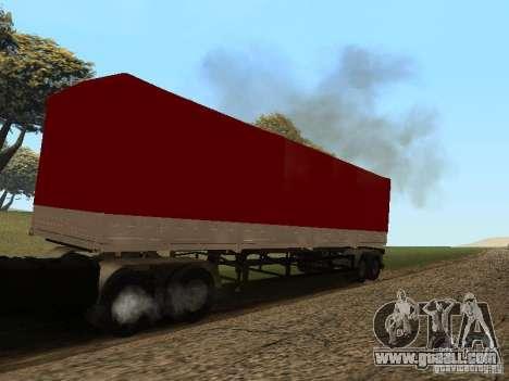 Nefaz 93344 trailer for GTA San Andreas