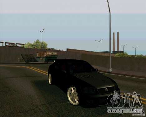 LEXUS IS300 Light tuned for GTA San Andreas