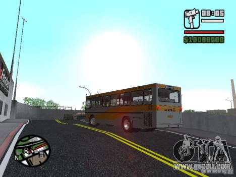 Mercedes-Benz O325 for GTA San Andreas back left view