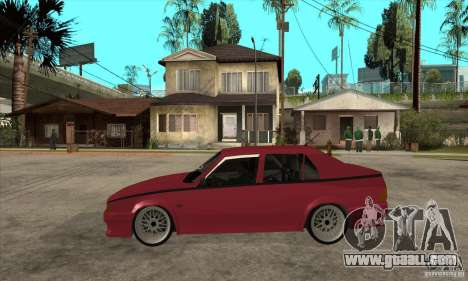 Alfa Romeo 75 Drifting for GTA San Andreas left view