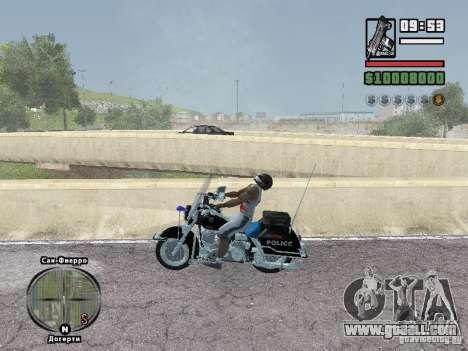 Helmet mod for GTA San Andreas second screenshot