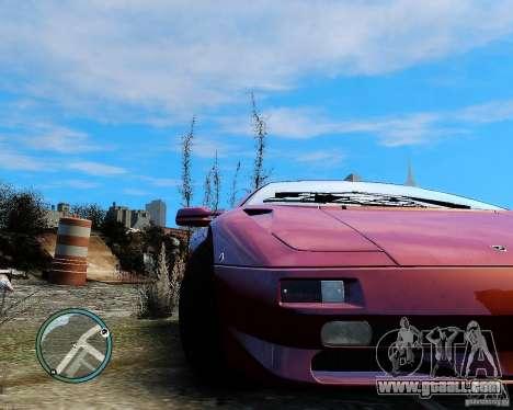 Lamborghini Diablo SV 1997 EPM v.2.3 for GTA 4 back left view