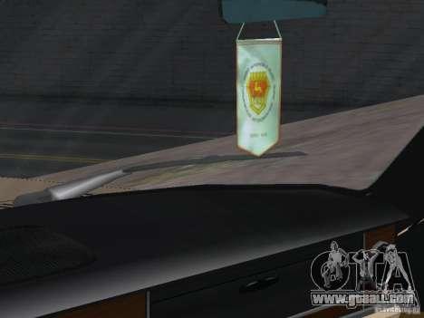 GAZ-24 Volga Taxi 02 for GTA San Andreas back view