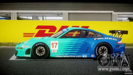 Porsche GT3 RSR 2008 for GTA 4 left view