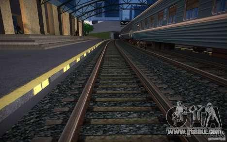 HD Rails v 2.0 Final for GTA San Andreas third screenshot