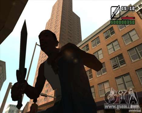 Gladius Knife for GTA San Andreas third screenshot