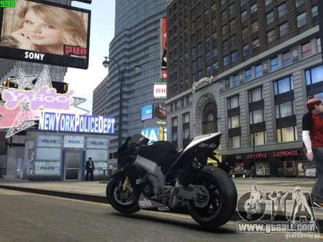 Aprilia RSV-4 Black Edition for GTA 4 right view