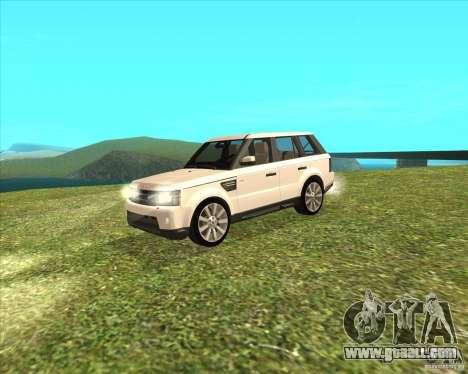 Range Rover Sport 2012 for GTA San Andreas